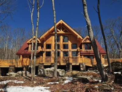 Maison unifamiliale for sales at The Camp Red Fox 2128 Eagles Nest Trail Banner Elk, Carolina Du Nord 28604 États-Unis