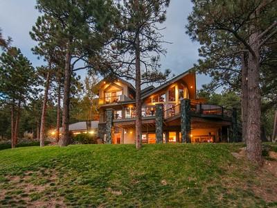 Einfamilienhaus for sales at 1912 Sugarbush Drive   Evergreen, Colorado 80439 Vereinigte Staaten