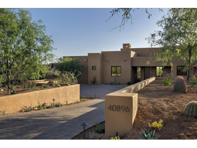 Einfamilienhaus for sales at Beautiful Brand New Soft Contemporary Home In Desert Mountain 9894 E Miramonte Drive  Scottsdale, Arizona 85262 Vereinigte Staaten