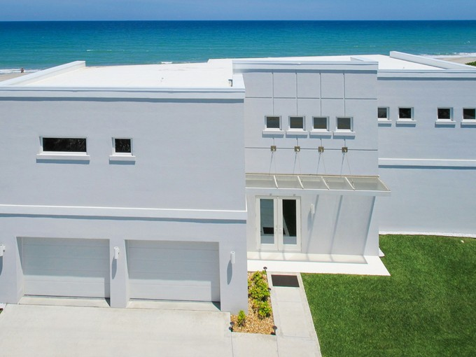 Single Family Home for sales at Custom Built Oceanfront Home 1611 Atlantic Street Melbourne Beach, Florida 32951 United States
