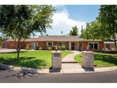 Maison unifamiliale for sales at Completely Remodeled Charming Home in a  Friendly Arcadia Neighborhood 4123 N 33rd Place Phoenix, Arizona 85018 États-Unis
