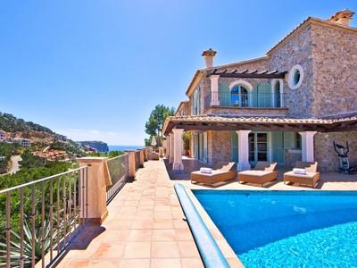 Maison unifamiliale for sales at Mediterranean sea view property in Port Andratx  Port Andratx, Majorque 07157 Espagne