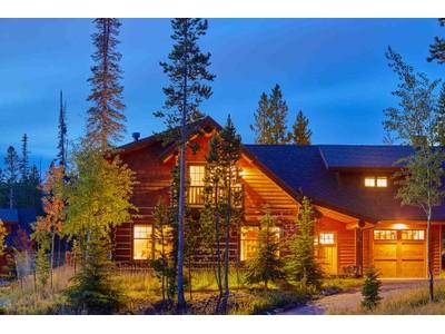 獨棟家庭住宅 for sales at Ski-in, Ski-out Powder Ridge 1 Chief Gull Road Powder Ridge 130  Big Sky, 蒙大拿州 59716 美國