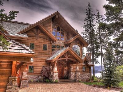 단독 가정 주택 for sales at Stunning Estate Home 17496 S ESTRELLA DR Coeur D Alene, 아이다호 83814 미국