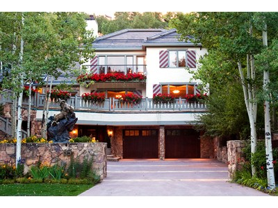 Single Family Home for  at President Ford's Former Beaver Creek Residence 65 Elk Track Court Avon, Colorado 81620 United States