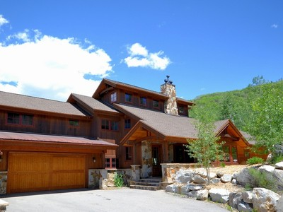 Stadthaus for sales at Rustic Contemporary Chalet 2672 Alpenglow Way  Steamboat Springs, Colorado 80487 Vereinigte Staaten