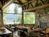 Property Of Spectacular Home on Whitefish Lake's Lazy Bay