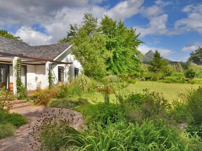 Granjas / Hacienda / Platanción for sales at Boutique Vineyard  Stellenbosch, Provincia Occidental Del Cabo 7600 Sudáfrica