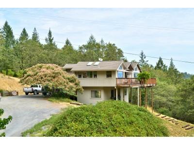 Maison unifamiliale for sales at 2100 Felta Road   Healdsburg, Californie 95448 États-Unis