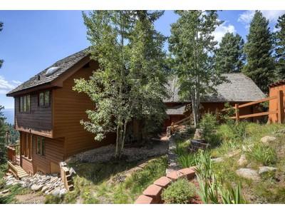 Частный односемейный дом for sales at 901 Snyder Mountain Rd  Evergreen, Колорадо 80439 Соединенные Штаты