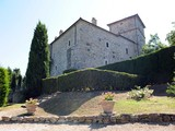 Property Of Charming castle with ancient observation tower next to Todi