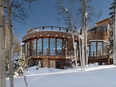 Tek Ailelik Ev for sales at The Ultimate Mountain Home 1457 Wood Road   Snowmass Village, Colorado 81615 Amerika Birleşik Devletleri