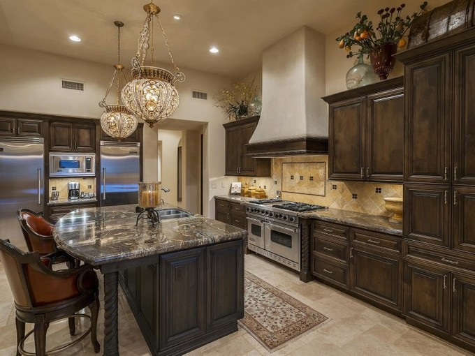 Maison unifamiliale for sales at Luxury Home in Fabulous Pinnacle Peak Community of Privada 10585 E Crescent Moon Dr #40 Scottsdale, Arizona 85262 États-Unis