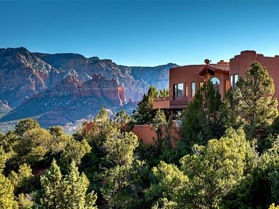 Maison unifamiliale for sales at Private Contemporary Sedona Home 216 Calle Francesca Sedona, Arizona 86336 États-Unis