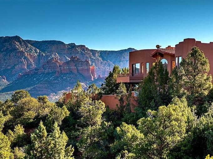 Single Family Home for sales at Private Contemporary Sedona Home 216 Calle Francesca   Sedona, Arizona 86336 United States