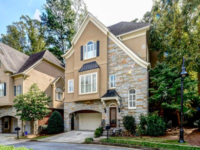 Частный односемейный дом for sales at Pristine Setting In Gated Brookhaven Neighborhood 1012 Fairway Estates  Atlanta, Джорджия 30319 Соединенные Штаты