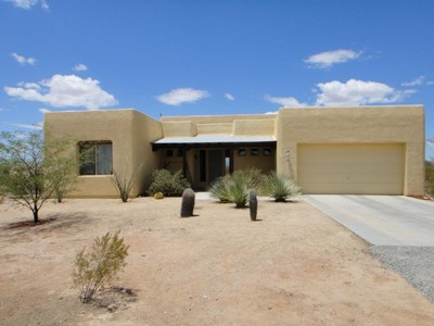 独户住宅 for sales at Beautiful Santa Fe Home On A Private Acre Lot 7879 W Spiney Lizard Place  Tucson, 亚利桑那州 85735 美国