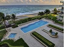 Piso for sales at 1063 Hillsboro Mile #807    Pompano Beach, Florida 33062 Estados Unidos