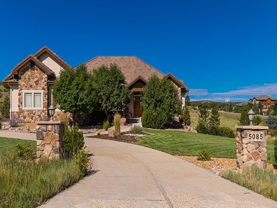 Single Family Home for sales at 5085 Starry Sky Way   Parker, Colorado 80134 United States