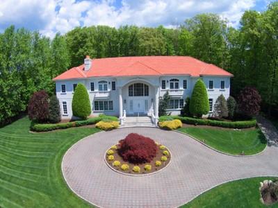 단독 가정 주택 for sales at Fabulous Views  Saddle River, 뉴저지 07458 미국