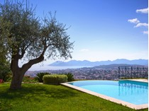 Single Family Home for sales at Property with amazing views in a private domain  Cannes, Provence-Alpes-Cote D'Azur 06400 France