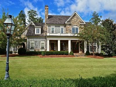 Villa for sales at Extraordinary Custom Home In Newhaven 220 Newhaven Drive  Fayetteville, Georgia 30215 Stati Uniti