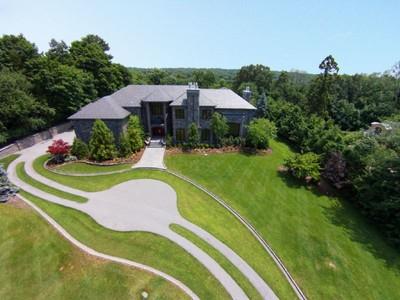단독 가정 주택 for sales at Magnificent! 64 Stony Ridge Road Saddle River, 뉴저지 07458 미국