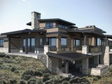 Property Of New construction mountain home in desired West Hills of Promontory