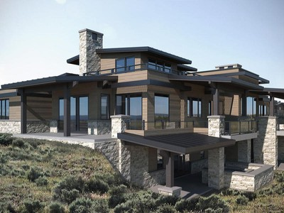Nhà ở một gia đình for sales at New construction mountain home in desired West Hills of Promontory 7400 N West Hills Trail Park City, Utah 84098 Hoa Kỳ