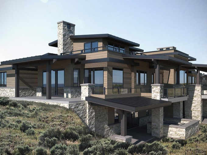 Single Family Home for sales at New construction mountain home in desired West Hills of Promontory 7400 N West Hills Trail Park City, Utah 84098 United States