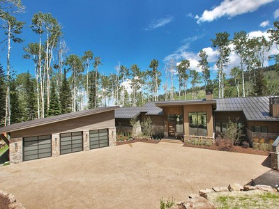 一戸建て for sales at Stunning Contemporary New Construction 172 White Pine Canyon Rd Park City, ユタ 84098 アメリカ合衆国