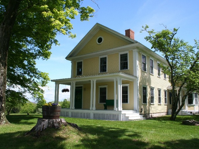 Single Family Home for sales at Reproduction Farmhouse built in 2003 730 Parker Hill Road Springfield, Vermont 05156 United States