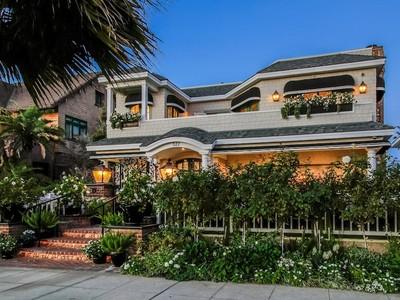Tek Ailelik Ev for sales at Oceanfront Luxe Home 527 Ocean Blvd.  Coronado, Kaliforniya 92118 Amerika Birleşik Devletleri