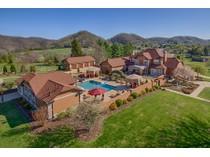 Частный односемейный дом for sales at Refined Mediterranean Estate    Northeast, Теннесси 37620 Соединенные Штаты
