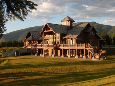 Einfamilienhaus for sales at Exquisite Montana Retreat 80 Squire Lane S Trout Creek, Montana 59874 Vereinigte Staaten