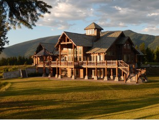 Single Family Home for sales at Exquisite Montana Retreat 80 Squire Lane S Trout Creek, Montana 59874 United States
