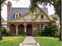 Casa para uma família for sales at M-Street Tudor 5226 Ridgedale Avenue   Dallas, Texas 75206 Estados Unidos