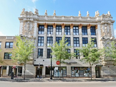 Condominium for sales at Incredible Condo Loft 1635 W Belmont Avenue Unit 501 Chicago, Illinois 60657 United States
