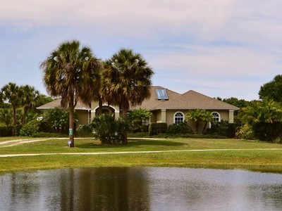 Single Family Home for sales at PRIVATE COUNTRY RETREAT on 2.5 ACRES 6164 61st Street Vero Beach, Florida 32967 United States