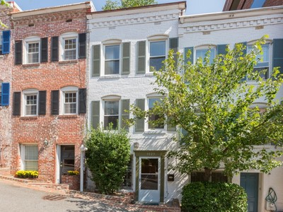 Townhouse for sales at Georgetown 1023 Cecil Place Nw  Washington, District Of Columbia 20007 United States