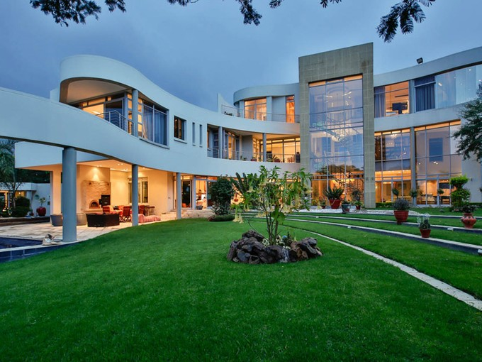 Single Family Home for sales at A glittering showpiece! Panoramic views  Johannesburg, Gauteng 2191 South Africa
