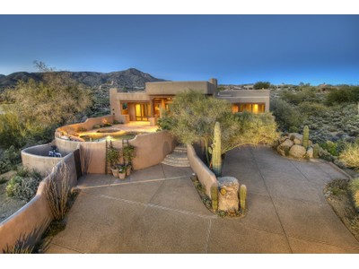Single Family Home for sales at Charming & Cozy Custom Southwest Territorial Home in Desert Mountain 40679 N 107th Street  Scottsdale, Arizona 85262 United States
