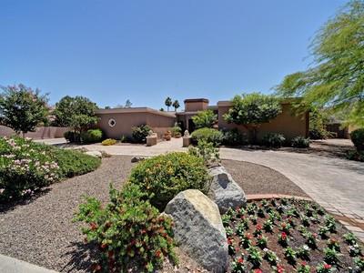 Villa for sales at Refined Arizona Home In Doubletree Canyon Bordering The Phoenix Mtn Preserve 4527 E Horseshoe Rd Phoenix, Arizona 85028 Stati Uniti
