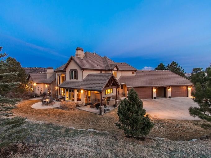 獨棟家庭住宅 for sales at 1667 Macom Drive  Sedalia, 科羅拉多州 80135 美國
