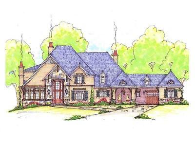独户住宅 for sales at Majestic English Manor with Golf Views 315 Blair Court Alpharetta, 乔治亚州 30004 美国
