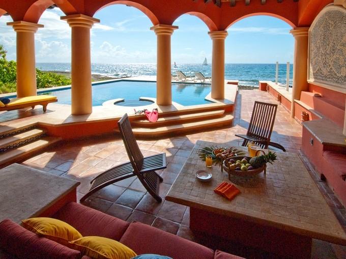 단독 가정 주택 for sales at QUINTA DEL MAR OCEANFRONT Puerto Aventuras, Caleta Xel-Ha Puerto Aventuras, Quintana Roo 77782 멕시코