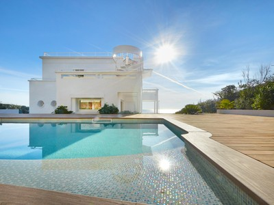 Single Family Home for sales at One of a kind Art Deco estate with private beach. Cap d'Antibes Cap D'Antibes, Provence-Alpes-Cote D'Azur 06160 France