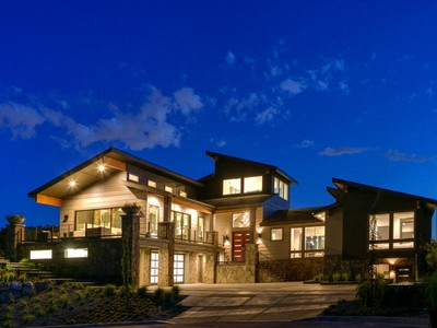 Maison unifamiliale for sales at Modern Home with Spectacular City and Lake Views 2027 E Lake Bluff Pl Draper, Utah 84020 États-Unis