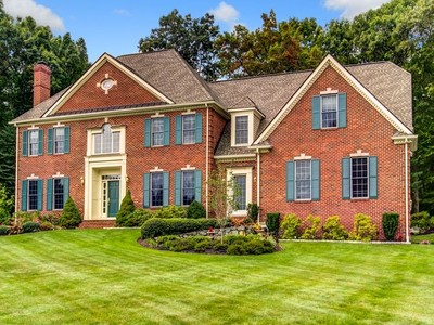 Single Family Home for sales at Brick Hill Estate Masterpiece 18 Fawn Ridge Road Hopkinton, Massachusetts 01748 United States