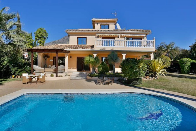 Single Family Home for sales at Nice villa in Golden Mile Rocio Nagüeles Marbella, Andalucia 29600 Spain